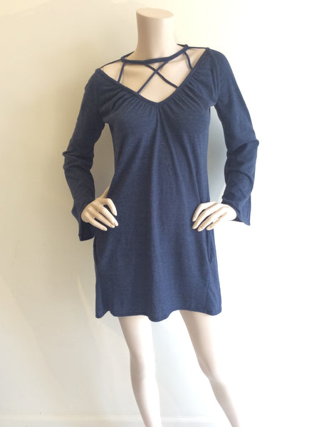 Chaser Jersey dress in Navy