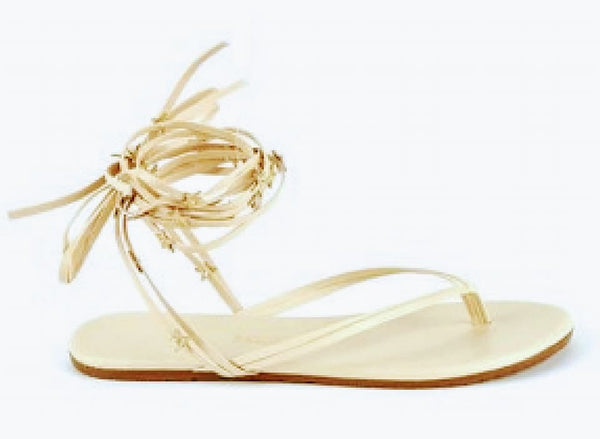 Tkees lily star dust wrap sandals