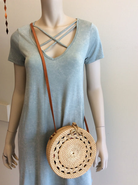 Clara purse in natural