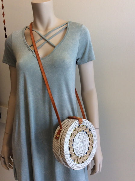 Clara purse in white