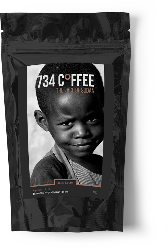 Medium 734 Coffee - Dark Roast