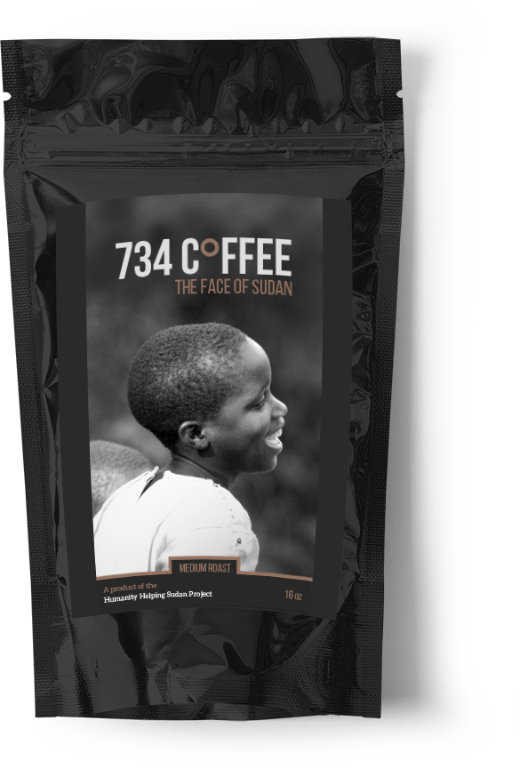 Large 734 Coffee - Medium Roast