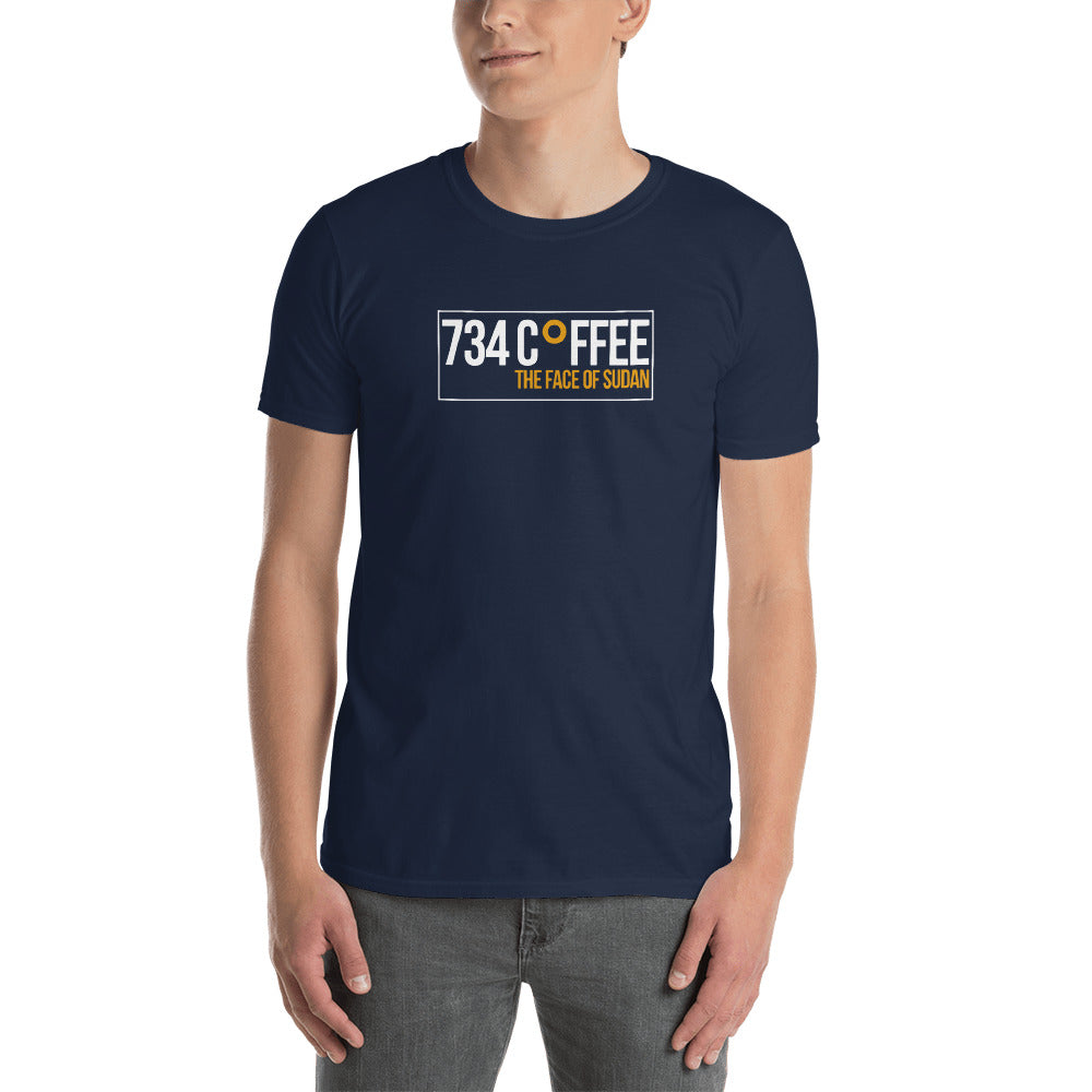 Short-Sleeve Unisex 734 Coffee T-Shirt
