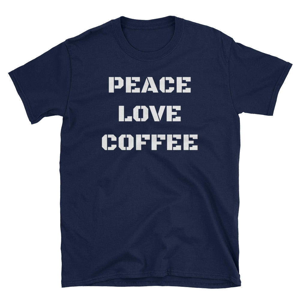 PEACE & COFFEE  SHIRT