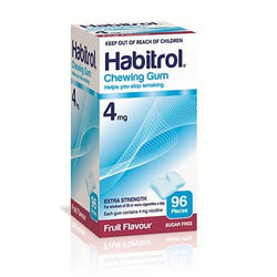 Habitrol 4mg Fruit Gum 96 Pieces - EXP 03/2021