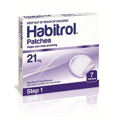 Habitrol Patches Step 1 21mg 7 Patches