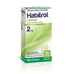 Habitrol 2mg Mint Lozenges 36 Pieces  - EXP 02/2020