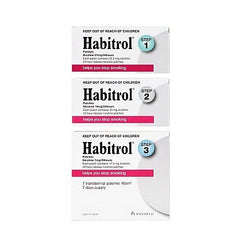 Habitrol Nicotine Patches Starter Pack (Step 1,2,3)