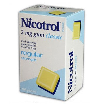 Nicotrol Chewing Gum 2mg Classic 105 Pieces