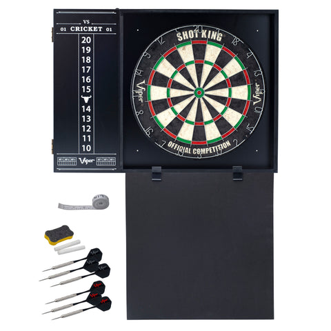 Viper Steadfast Dart Backboard with Shot King Sisal Board