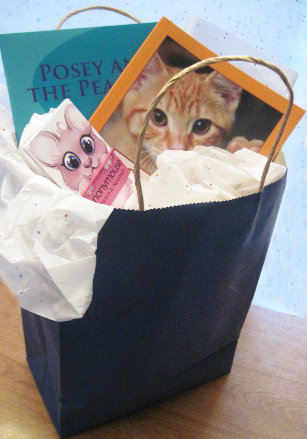 Cat and Mouse Books Bag