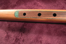 Western Cedar with Myrtlewood Fingerboard and Turquoise Inlay D#