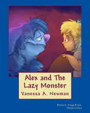 Alex and The Lazy Monster Book
