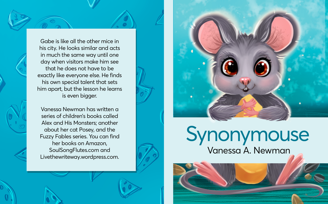 Positive Pop-Out Book - Synonymouse is here!
