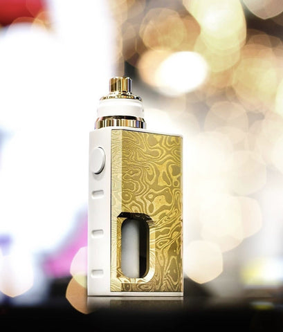 Wismec Luxotic BF Box Mod Limited White/Gold