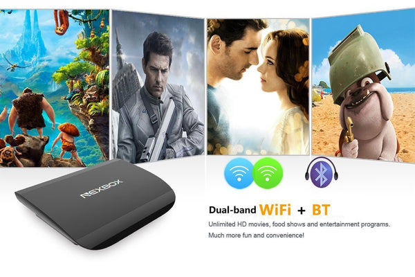 Android TV box A1 - Quad Core - Bluetooth - 2G/16G