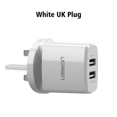 5V3.4A Universal USB Charger - Smart Mobile Phone Charger for iPhone Tablet