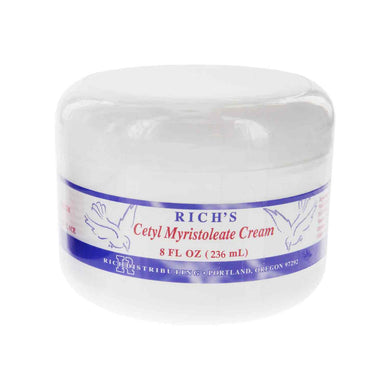 CMO/MSM Unscented Cream 8 ounce Jar