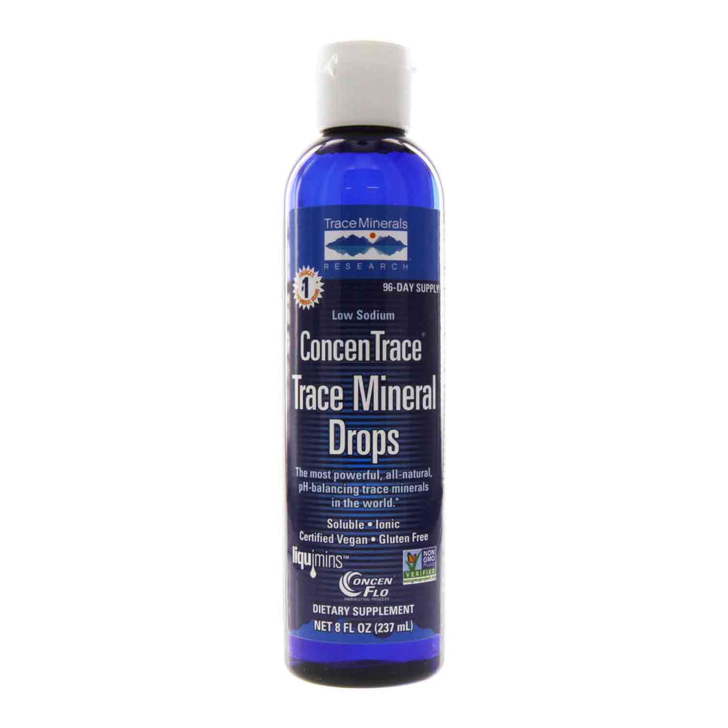 Trace Minerals - 8 ounce bottle of ConcenTrace minerals