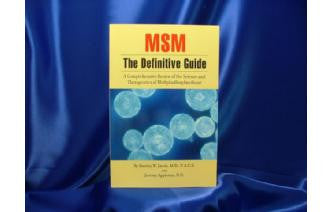 Book- MSM The Definitive Guide - by Stan Jacob