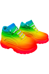 Full Spectrum Platform Sneakers