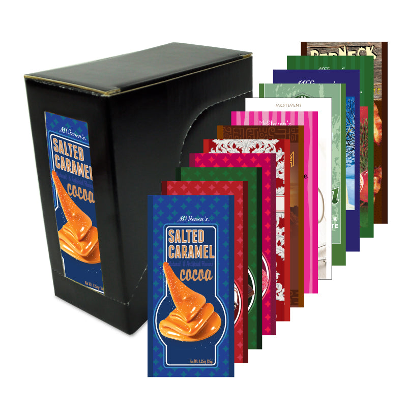 Flavors of McSteven's Variety Box (Twelve 1-1.25oz Packets)