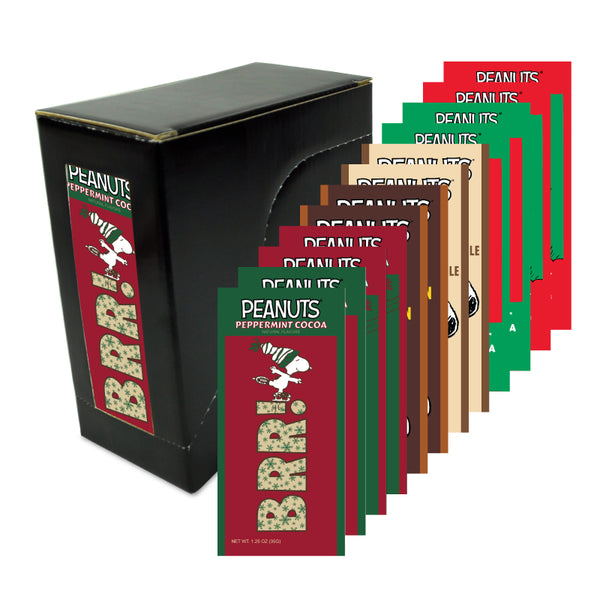 Peanuts® Holiday Variety Box (Twelve 1.25oz Packets)