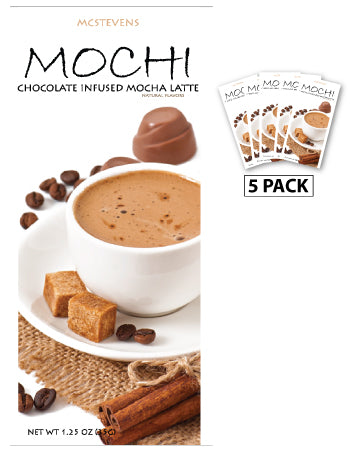 Packets All Year Latte Mocha - McStevens© Mochi Chocolate - 1.25 oz packets (5)