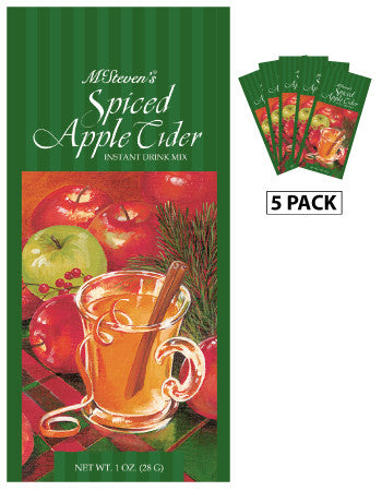 McSteven's Spiced Apple Cider Mix (Five 1oz Packets)