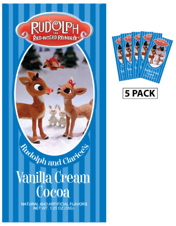 Rudolph the Red-Nosed Reindeer© Clarice's Vanilla Cream Cocoa (Five 1.25oz Packets)
