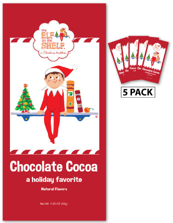 Packets Christmas Cocoa - The Elf on the Shelf© Chocolate - 1.25 oz packets (5)