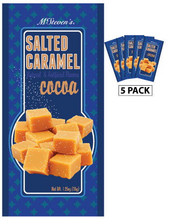 Packets All Year Cocoa - McSteven's Ultra Salted Caramel - 1.25 oz packets (5)