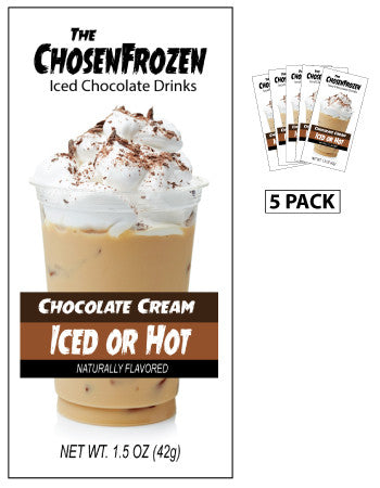 The Chosen Frozen Iced Chocolate Drink (Five 1.5oz Packets)