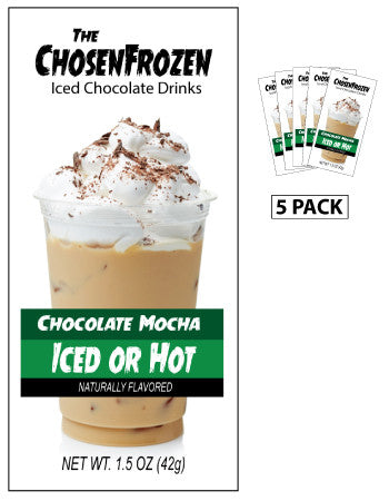 McSteven's© Chosen Frozen Iced Chocolate Mocha (Five 1.5oz Packets)