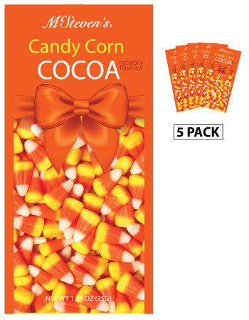 Packets Halloween Fall Cocoa - McStevens© Candy Corn Flavored - 1.25 oz packets (5)