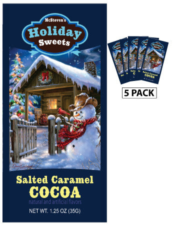 Packets Christmas Cocoa - Dona Gelsinger® Holiday Sweets Salted Caramel - 1.25 oz packets (5)