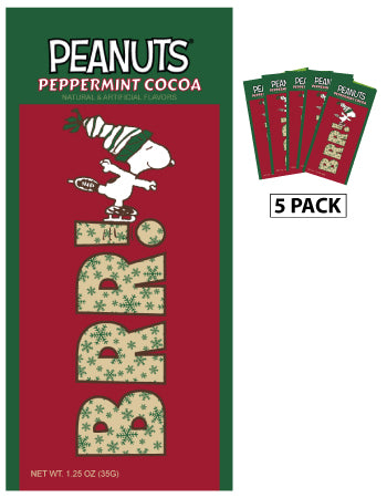 Peanuts® Snoopy Brrr Peppermint Cocoa (Five 1.25oz Packets)