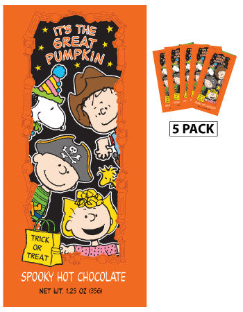 Packets Halloween Cocoa - Peanuts© Great Pumpkin Spooky Chocolate - 1.25 oz packets (5)