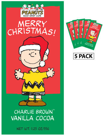 Packets Christmas Cocoa - Peanuts© Charlie Brown Vanilla - 1.25 oz packets (5)