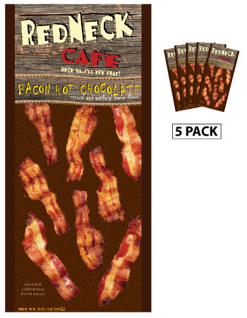 McSteven's Redneck Cafe Bacon Cocoa (Five 1.25oz Packets)