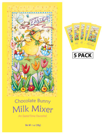 Packets Easter Milk Mixer - Mary Engelbreit© Chocolate Bunny - 1.25 oz packets (5)