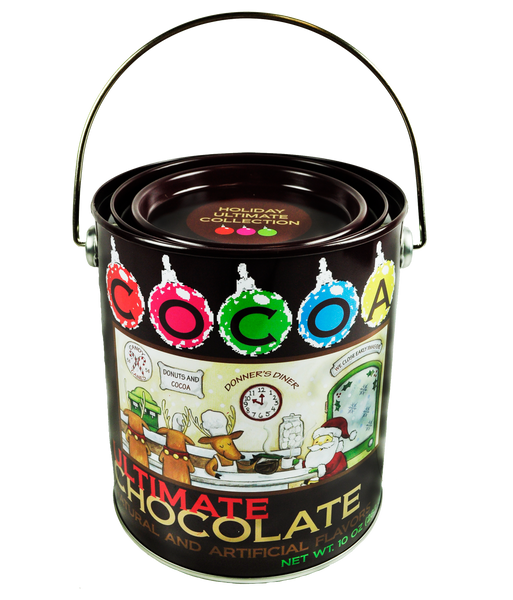 Donner's Diner Ultimate Chocolate Holiday Cocoa (10oz Tin)