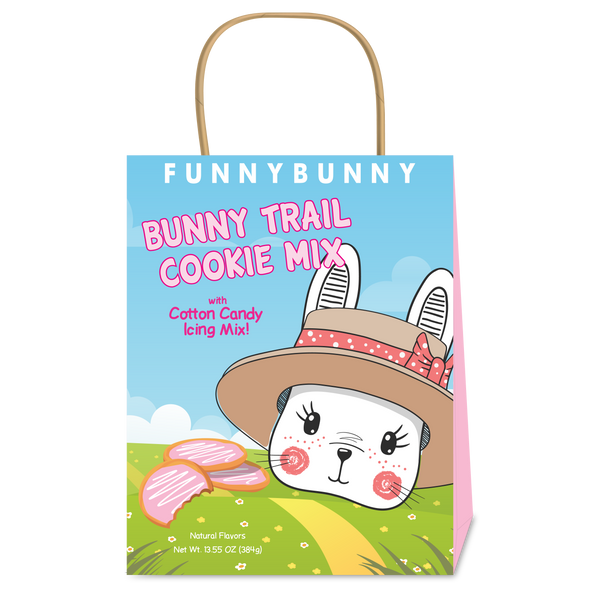 Funny Bunny Cotton Candy Sugar Cookie Mix (13.5oz Handle Bag)