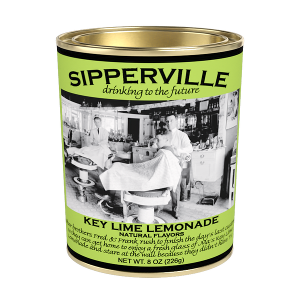 McSteven's Sipperville Key Lime Lemonade (8oz Oval Tin)
