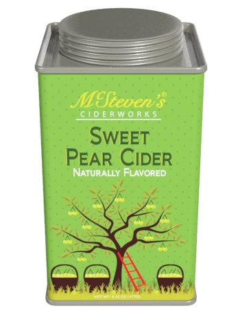McSteven's Ciderworks Sweet Pear Cider Mix (6.25oz Square Tin)