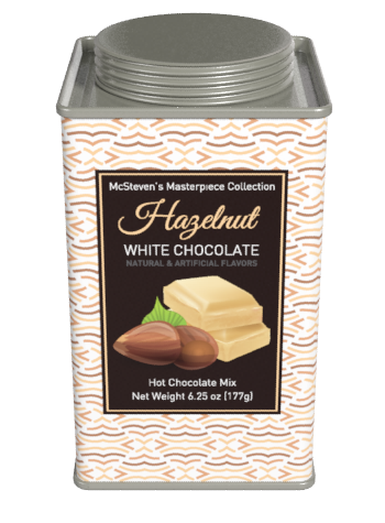 Masterpiece Collection Hazelnut White Chocolate Cocoa (6.25oz Square Tin)