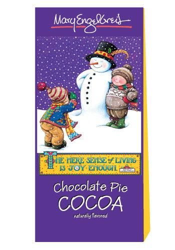 Mary Engelbreit® Snowman Chocolate Pie Cocoa (2.5oz Tent Box)