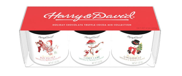 Harry & David® Snowman Gift Set (3-3oz Round Canisters)