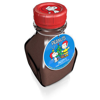 Glass Milk Jar Drink Cocoa - Peanuts© Double Chocolate - 10 oz