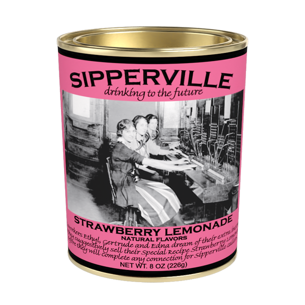 McSteven's Sipperville Strawberry Lemonade (8oz Oval Tin)